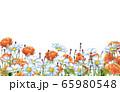 薔薇とデイジーとラベンダー 65980548