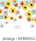 デイジーの花フレーム 65980551
