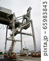 港のコンテナターミナル 65983843