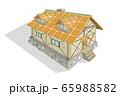 石造りの家(オレンジ屋根) 65988582