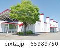 大型パチンコ店の外観 65989750