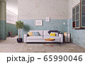 sofa in the old room. 65990046
