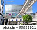 【福岡県】晴天下のJR小倉駅南口 65993921