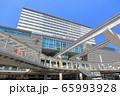 【福岡県】晴天下のJR小倉駅南口 65993928