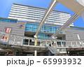【福岡県】晴天下のJR小倉駅南口 65993932