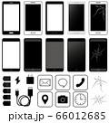 スマートフォン素材 66012685
