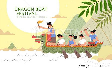 Dragon boat racing team 66013083