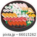 寿司 出前 イラスト 66015262