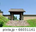 鉢形城三の曲輪四脚門(正面) 66031141