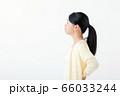 腰痛 若い女性 66033244