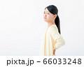 腰痛 若い女性 66033248