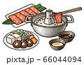しゃぶしゃぶセット(たれ、具材つき) 66044094