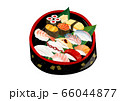 寿司盛り合わせ、寿司桶 66044877