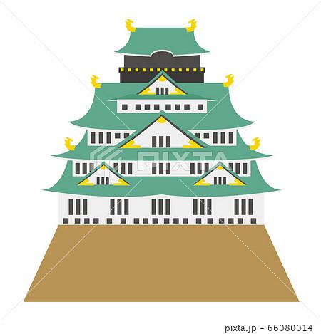 大阪城 建物 大阪 アイコン 66080014