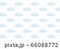 水色の雲の壁紙 66088772