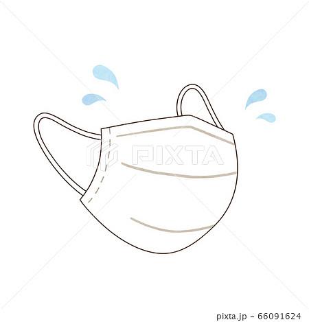マスクと汗 66091624