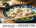 水菜の豚しゃぶサラダ 66096796