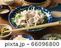 水菜の豚しゃぶサラダ 66096800