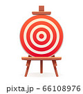 Arch target icon, cartoon style 66108976