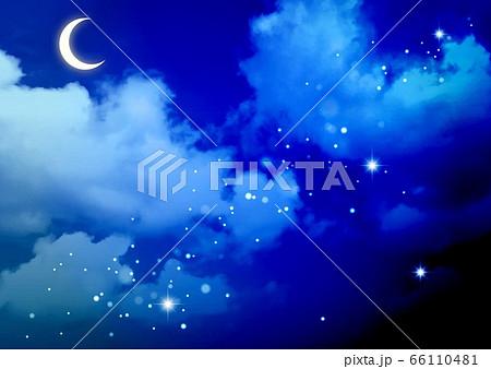 空グラデーション夜 66110481