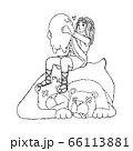 David Save the Sheep Life from Bear and Lion with 66113881