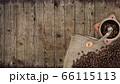 カフェをイメージした素材 66115113