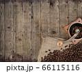 コーヒーをイメージした素材 66115116