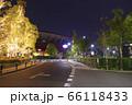 カープロードと夜のカープ本拠地 Mazda Zoom-Zoom スタジアム広島(マツダスタジアム) 66118433