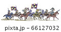 中国-項羽の騎馬軍団-横姿 66127032