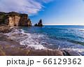 (千葉県)御宿大波月海岸のロウソク岩 66129362