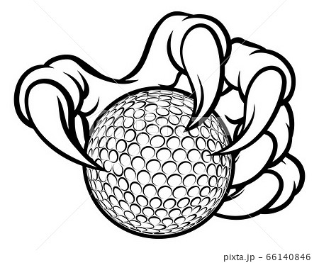 Golf Ball Claw Monster Sports Hand 66140846