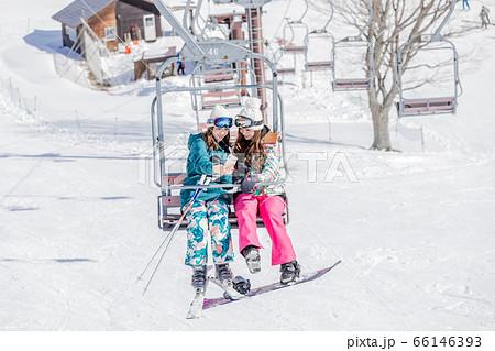 スキー スノーボード リフト 66146393