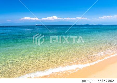 《愛媛県》美しい瀬戸内海・しまなみ海道大島のビーチ 66152062