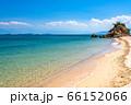 《愛媛県》美しい瀬戸内海・しまなみ海道大島のビーチ 66152066