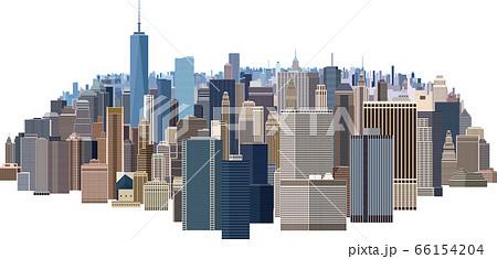 摩天楼 大都会のビル群 66154204