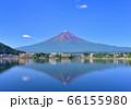 河口湖畔からの夏の風景-777625 66155980