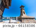 《広島県》常夜灯・鞆の浦の港 66158386