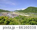 河原城 お城山展望台からの眺め(鳥取県鳥取市 河原町) 66160338