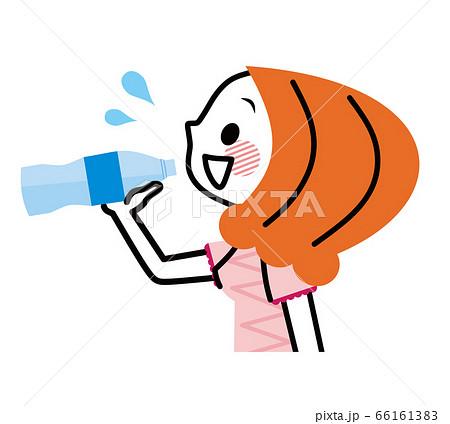 女性 水分補給 経口補水液 66161383