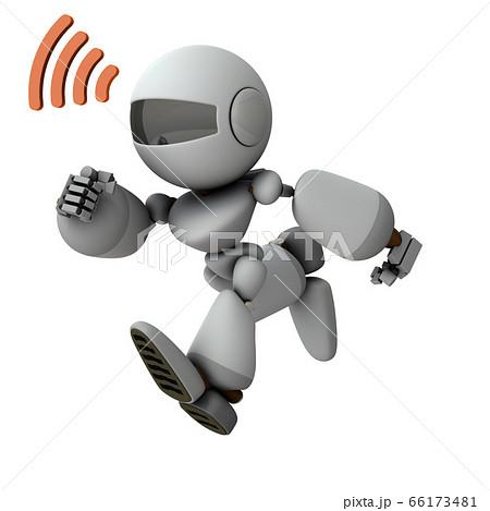 ワイヤレスでコマンドを受けるロボット 66173481