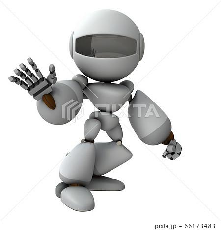 断固拒絶するロボット 66173483
