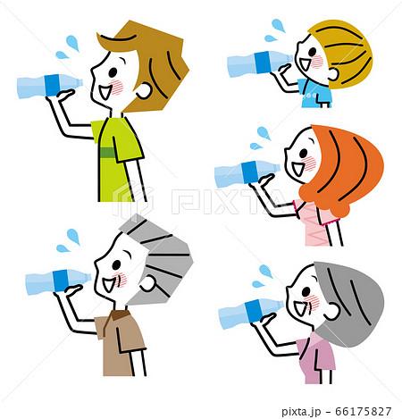 家族 水分補給 経口補水液 66175827