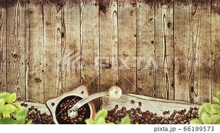 カフェをイメージした背景 66199573