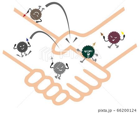 握手 ウイルス 66200124
