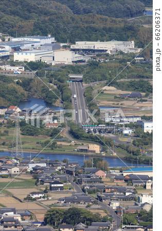 三豊市豊中町、さぬき豊中インターと神山工業団地 66206371