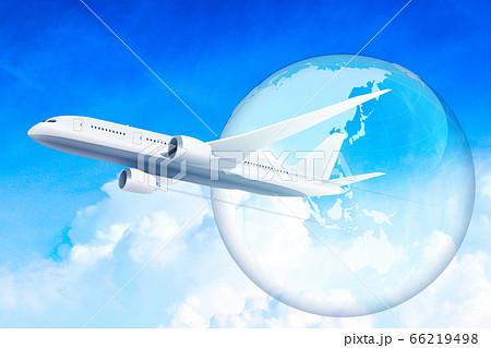飛行機旅行 66219498