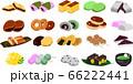 かわいい和菓子集(皿無し) 66222441