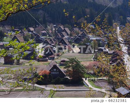 展望台からの眺め~白川郷の集落~ 66232381