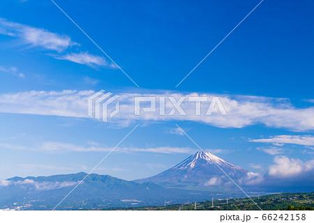 (静岡県)伊豆丹那から眺める富士山 66242158