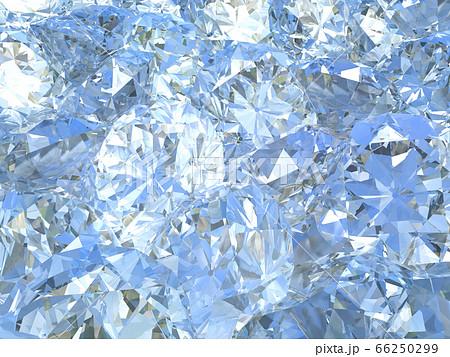 CGイラストデザイン ブリリアントカットダイヤモンドイメージのバックグラウンド 66250299